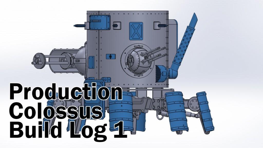 Production Colossus Build Log 1